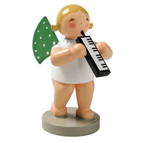 Wendt Kuhn Blonde Angel Melodica Figurine FGW650X66