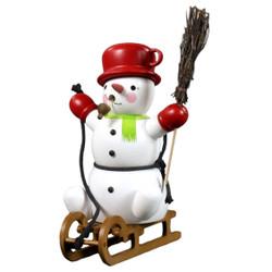 Snowy Snowman Incense German Smoker