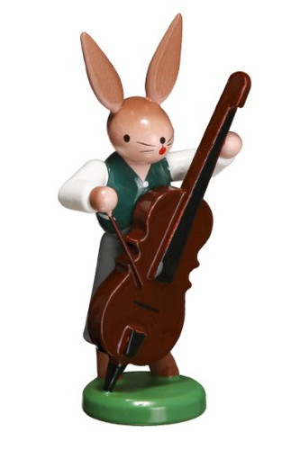 Bunny Playing Bass