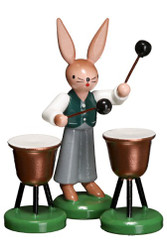Bunny Playing Kettle Drum