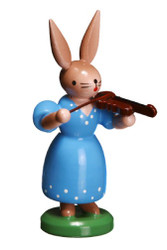 Bunny Woman Playing Violin
