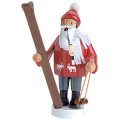 Red Skier German Incense Smoker