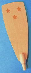 Pyramid Paddle 106mm x 37mm Stars RPPAD106X37