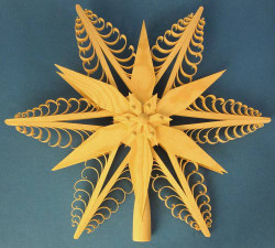 Star Tree Topper Star German Ornament ORD216X014