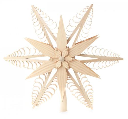 Star Tree Topper Star German Ornament ORD216X014