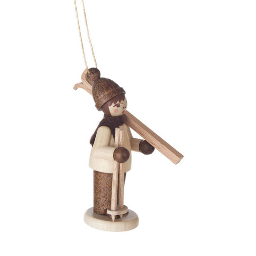 Holiday Sports Children German Ornament