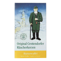 Crottendorfer Butter Waffle German Incense IND140X008BW