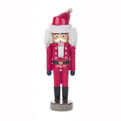 Miniature Santa German Mini Nutcracker