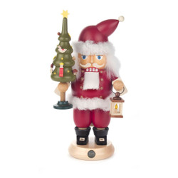 Santa Tree German Christmas Nutcracker