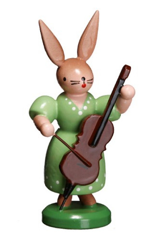 Bunny Playing Chello