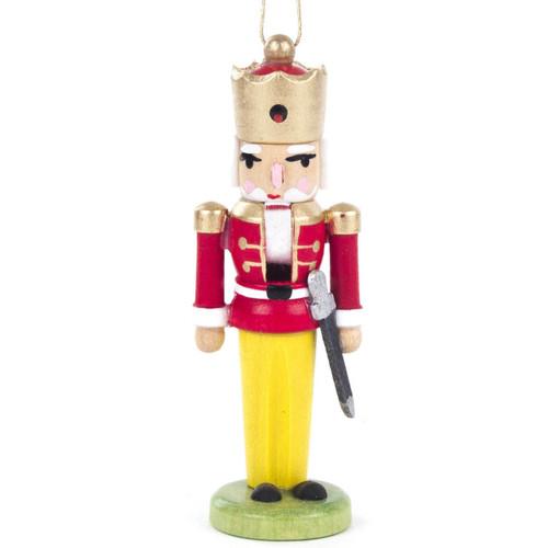 Nutcracker King Ornament Red Jacket Sword ORD074X038F