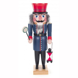 Railroad Night Watchman German Nutcracker NCD022X110