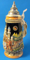 Neuschwanstein Castle German Beer Stein K305xNSS