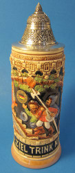 Happy Friends German Beer Stein Tan K1000xSGx2T