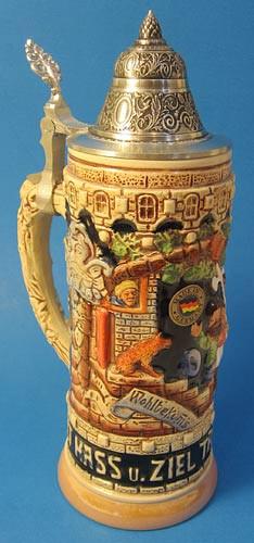 Happy Friends German Beer Stein Tan K1000xSGx2T