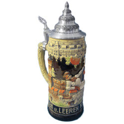 Happy Drinking Times German Beer Stein K1000xSGx3