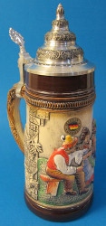 Friends Gathering German Beer Stein K300xBSx2xRU
