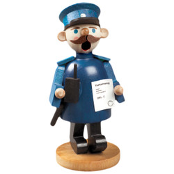 Mini Blue Policeman German Smoker SMR263X55