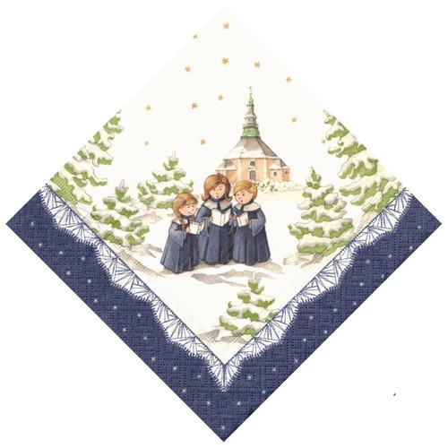 Three Choir Children German Paper Napkins NPD606X73