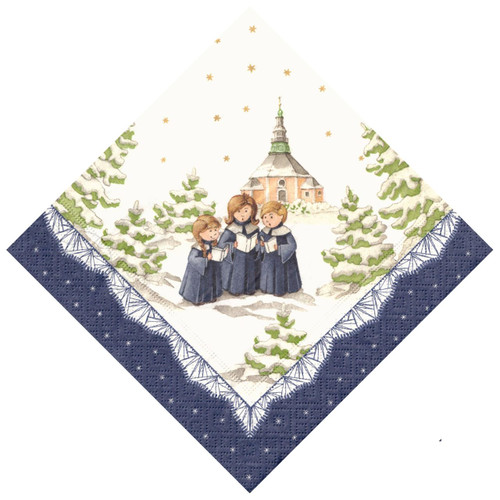 Three Choir Children German Paper Napkins NPD606X73