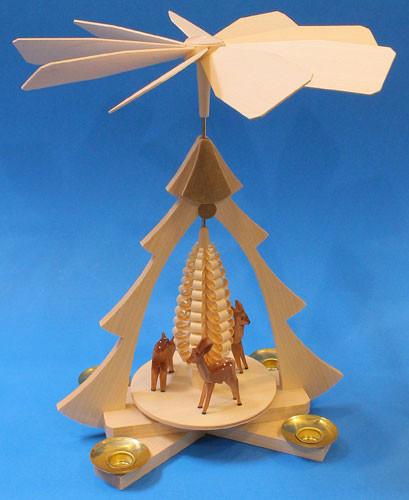 Christmas Deer German Pyramid PYD085X01N