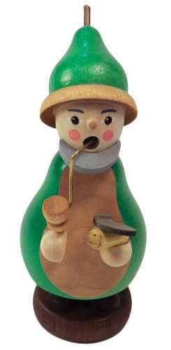 Mini Gnome Bird Watcher German Smoker SMR263X14