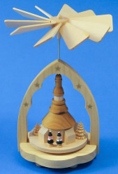 Mini German Pyramid Children Singers PYR017X23