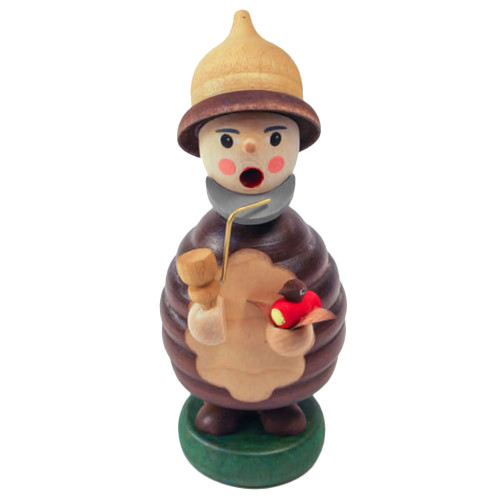 Mini Gnome Red Bird Watcher German Smoker SMR263X11