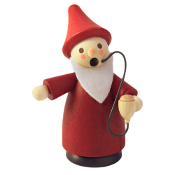 Mini Red Gnome Santa German Smoker SMD136X151X2
