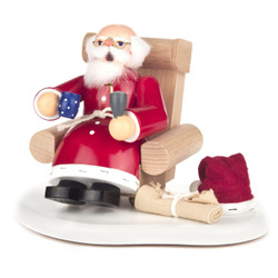 German Incense Smoker Sitting Santa