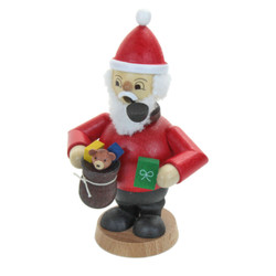 Toy Bag Santa German Smoker Gifts SMD146X1409