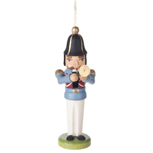 German Trumpet Nutcracker Ornament ORD074X193X2F