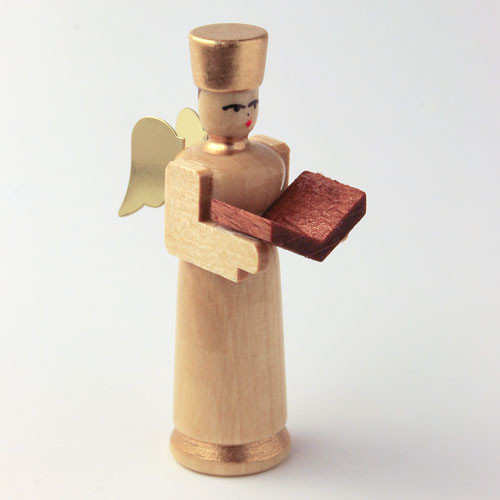 Angel Figurine with Book for Pyramid
