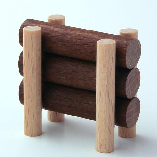 Wooden German Figurine Wood Pile