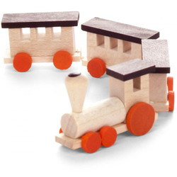 Wooden German Train Set Small 22mm