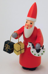 Wooden German Santa Figurine Gifts