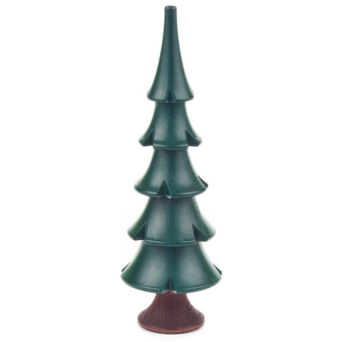 Tree Wooden German Green 4 inch Figurine