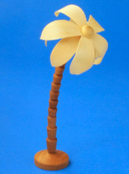Wooden Palm Tree German Figurine 114mm RP132X005X2