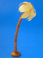 Wooden Palm Tree German Figurine 140mm RP132X005X3