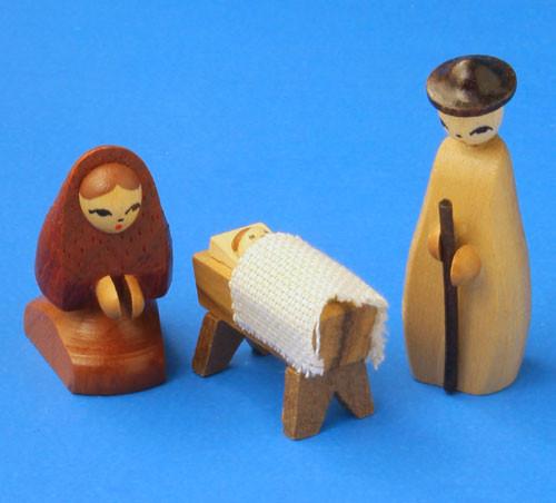 German Figurine Wooden Nativity Set RP200X207G