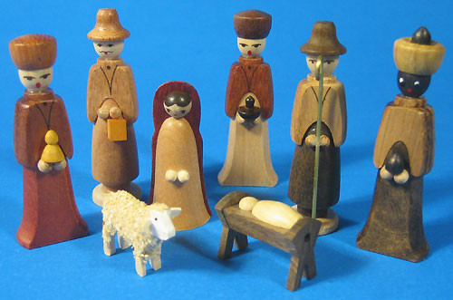 Christmas Nativity Figurines Eight