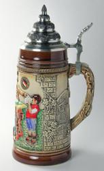German Child Men Waitress Beer Stein K300xBSx3xRU