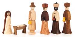 Christmas Nativity Figurines Six