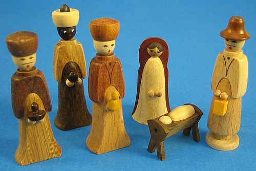 Christmas Nativity Figurines Six