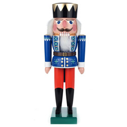 King Royal Blue Ochre German Nutcracker NCD022X020BXO