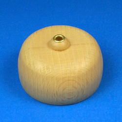 Round Wooden Pyramid Top Holder RPTOP52X32