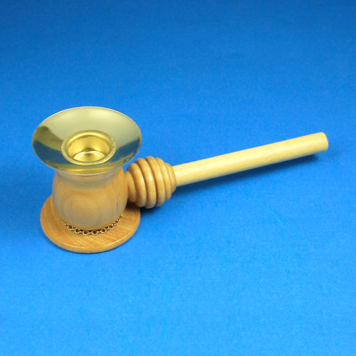 Medium Brass Candle Holder Part RPTAPHOLD115