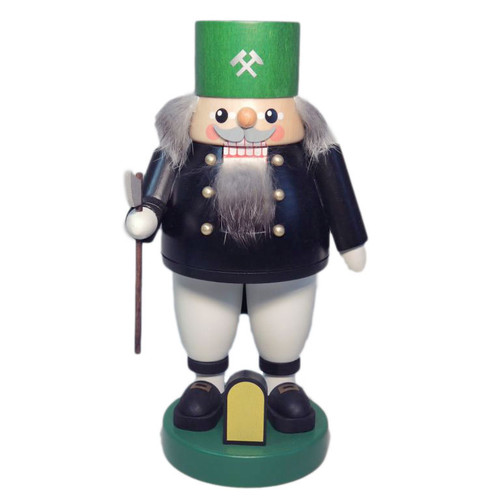 Green Miner Woodsman German Nutcracker NCR626X66