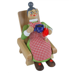 Oma Knitting Chair German Incense Smoker SMR260X22