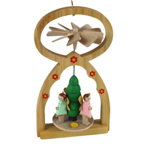 German Pyramid Ornament Elf ORR117X25